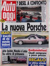 Auto OGGI n°175 1990 Alfa Romeo , Mazda e Lotus Tre Cabrio di confronto [Q200]