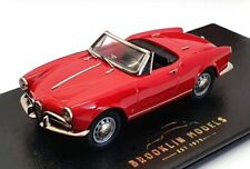 Brooklin Models 1/43 Scale AR03 - 1959 Alfa Romeo Giulietta Spider - Alfa Red