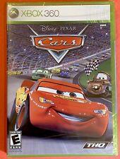 Disney Pixar CARS (Microsoft Xbox 360) Original U.S. Release Brand NEW SEALED