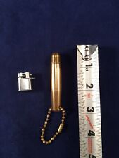 Vintage Mini Lift Arm Keychain Lighter Made in Japan Untested And Bullet Kechain