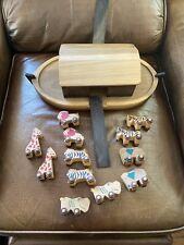 Vintage Noah's Ark Tucker Toys Wooden