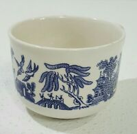 Vintage Churchill England Blue Willow China Large Breakfast Soup Mug Cup 12 Oz.