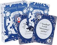 SHERLOCK HOLMES - QUOTES - PLAYING CARD DECK - 52 CARDS NEW - 52583