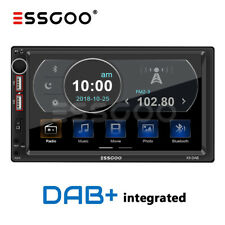 """7"""" 2 DIN DAB+ RDS AM FM Car Stereo MP5 Player Radio Bluetooth 2 USB SD AUX IN UK"""