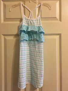 Naartjie Dress Girls Mix Print Size 6