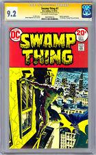 SWAMP THING #7 CGC-SS 9.2 *SIGNED ARTIST BERNIE WRIGHTSON* BATMAN CROSSOVER 1973