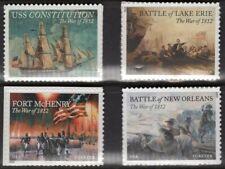 US 2012-2015 War of 1812 NH Paintings Complete 4703 4805 4921 4952 -FreeShip USA