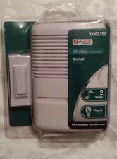 Utilitech White Wireless Doorbell UT