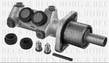 BBM4773 BORG & BECK BRAKE MASTER CYLINDER fits Peugeot 406 (-ABS) 95-04