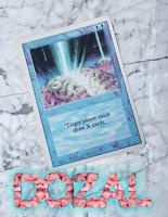 Braingeyser Blue Revised Rare Mtg Magic the Gathering vintage card 1994
