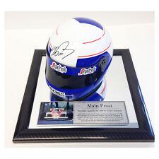 Signed Alain Prost 1/2 Scale F1 Helmet - Formula 1 Champion - McLaren 1997