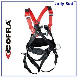 Imbracatura di Sicurezza Cintura Imbragatura Anticaduta Imbrago Ponteggi COFRA