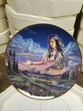 "Royal Doulton ""Maiden of the Sacred Range "" Limited Plate Ha3327 Dave Penfound"