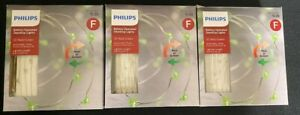 NEW LOT OF 3 Philips 30ct Battery Operated LED Dewdrop String Lights Red/Green