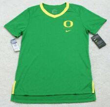 New Nike Green & Yellow T-Shirt Mans Short Sleeve Poly Cotton Rayon Men's Oregon