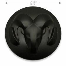 CENTER CAP DODGE RAM 1500 REBEL BLACK 2015-2019 GENUINE OEM #1LB72TRMAB