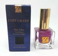 Estee Lauder Pure Color Nail Lacquer 08 Purple Passion 0.3 fl. oz. IMPERFECT BOX