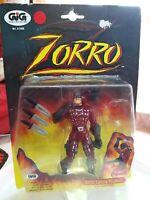 Gig gioco Zorro Lancia Pugnali , Playmates Anno 1997 da collezione