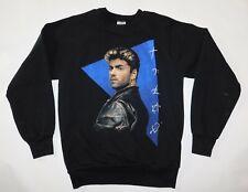 Vintage Original 1989 George Michael Faith Band Concert Tour CrewNeck Shirt M
