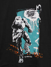 NEW HALO 3 MOUNTAIN DEW GAME FUEL SKETCH EDITION T-SHIRT, XBOX 360, REACH CHIEF