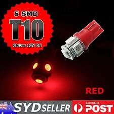 4x Red T10 LED Parker Parking Lights For Holden VT VX VY VZ VE Commodore Cruze