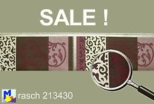 Sale! Border 213430 Rasch 5m Paper Edging Panel Purple (1,49 €/ M)