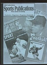 B & E Collectibles Sports Publications Price Guide & Catalog NRMT