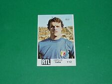 N°112 CAPELLO ITALIE ITALIA BUT FOOTBALL ARGENTINA 78 COUPE MONDE 1978