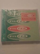 NEW Sealed Filter CD The Best Things Remix 6 Track Japanese IMPORT Japan EP 2000