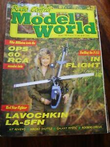 JOB LOT X 11 RCMW 1987 RADIO CONTROL MODEL WORLD AIRCRAFT MAGAZINES