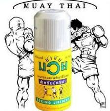 Namman Muay Thai Boxing Oil Liniment Massage Relieves Ache Sport Athlite 30 Cc.