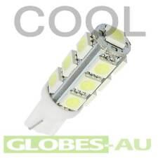 4x 12V LED T10 COOL WHITE LIGHT 5050 13 SMD Cabinet Camper Bulb Globe Garden