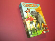 CIRCUS BOY - WAR ON WHEELS - 1958 Whitman TV HARDBACK