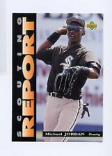 Michael Jordan Upper Deck Baseball White Sox Scouting Report SR3 Jumbo Card