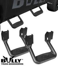 2X Bully Black Aluminum Side Step Nerf Bar for Sierra 1500 2500 3500 C/K Jimmy