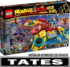 LEGO 80023 Monkie Kid's Team Dronecopter - Monkie Kid from Tates Toyworld