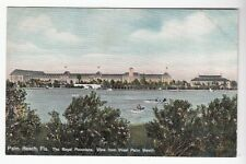 [50271] OLD POSTCARD THE ROYAL POINCIANA, VIEW FROM WEST PALM BEACH, FLORIDA
