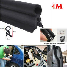 Dust Waterproof Sound Insulation 4M Car Door Bonnet Trunk Hood Edge Seal Strip