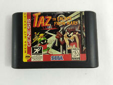 Game Sega Genesis Loose Taz in Escape from Mars and Tracking