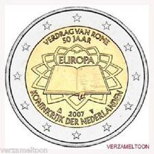 "NEDERLAND SPECIALE 2 EURO 2007 UNC  ""VERDRAG VAN ROME"""