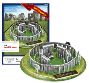 Stonehenge England 3D Puzzle Model Jigsaw UK