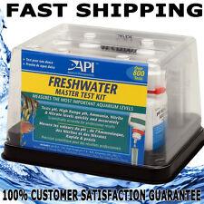 API Aquarium Fish Master Freshwater Test Kit Nitrate Nitrite PH Ammonia GENUINE