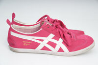 Asics Onitsuka Tiger Womens Mexico 66 vulc su d2h7l-2501Pink Leather US9/EUR40.5