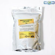 Beeswax Organic Refined 100% Pure 1Kg (RMO1KBEES)