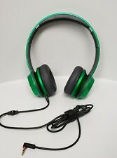 Monster N-Tune HD On-ear Headphones - Candy-Lime Green NICE as beats by dr. Dre