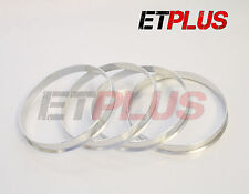 4 x 54.1- 57.1 Hubcentric spigot rings Metal alloy VW wheels to Mazda Mx5