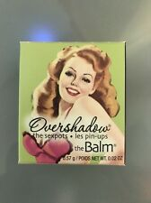 The Balm Overshadow The Sexpots Mineral Eyeshadow Work Is Overrated
