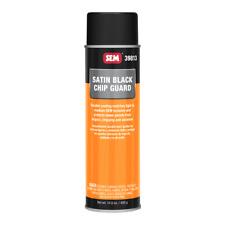SEM 39813 Chip Guard Satin Black Acrylic Auto Body Coating Aerosol Spray 14.8 oz