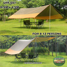 Extra Large Outdoor Picnic Camping Canopy UV50+ Sunshade BBQ Tent Car Shelter