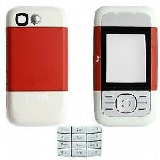 COVER HOUSING COMPATIBILE per NOKIA 5200 ROSSA CON TASTIERA NUOVO